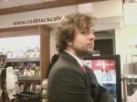 tweed in a suit