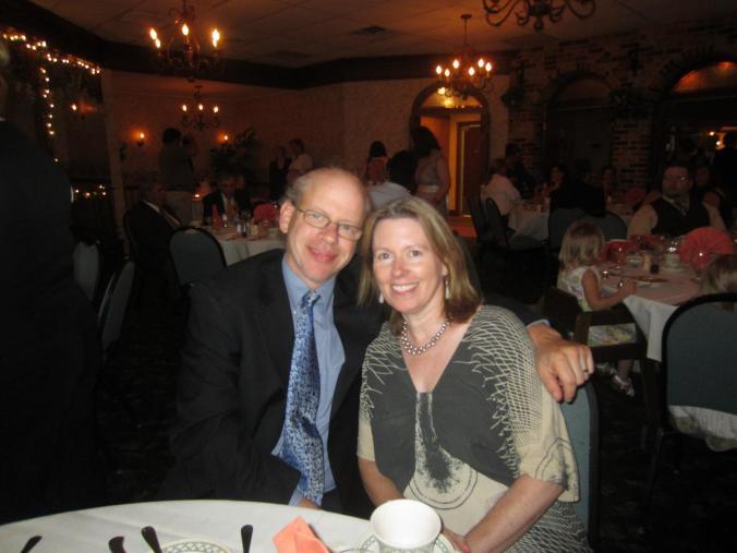Mom & Dad at a wedding