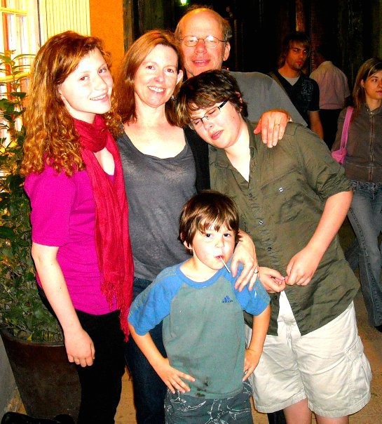 whole family in BCN, 2010